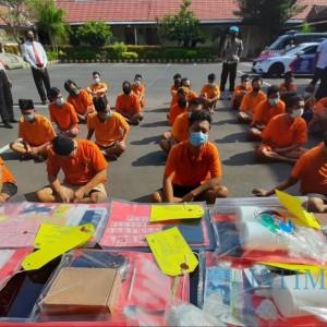 Operasi Tumpas Narkoba Semeru, Polisi Amankan 29 Tersangka