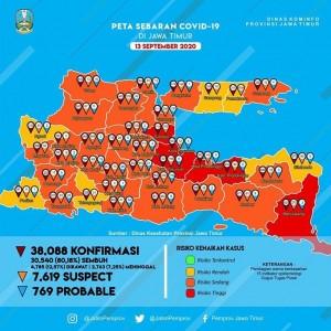 Update Covid-19 Kota Batu Tiga Hari Landai, Kini Masuk Zona Oranye