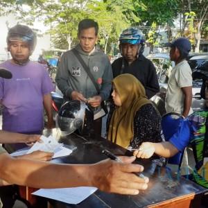 Operasi Yustisi di Pamekasan, Ratusan Warga Ditilang KTP dan Didenda Rp 20 Ribu