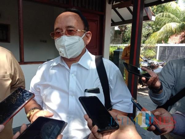 Plt Sekretaris BPWS, saat diwawancarai (foto/redaksi bangkalantimes.com)