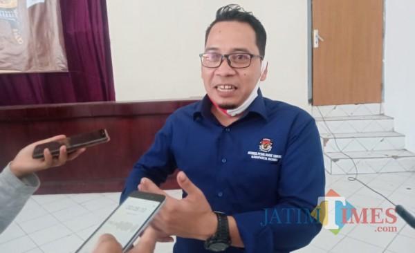 Anwar Ansori, komisioner KPU Kabupaten Kediri. (Eko arif s/Jatimtimes)