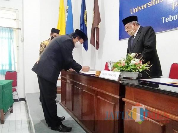 Pelantikan Prof Haris