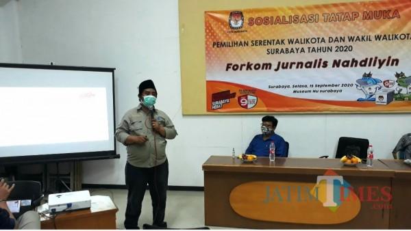 Komisioner KPU Surabaya  Zubairi
