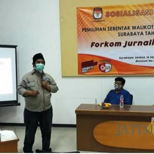 Gandeng Jurnalis Nahdliyin, KPU Surabaya Sosialisasikan Pilwali