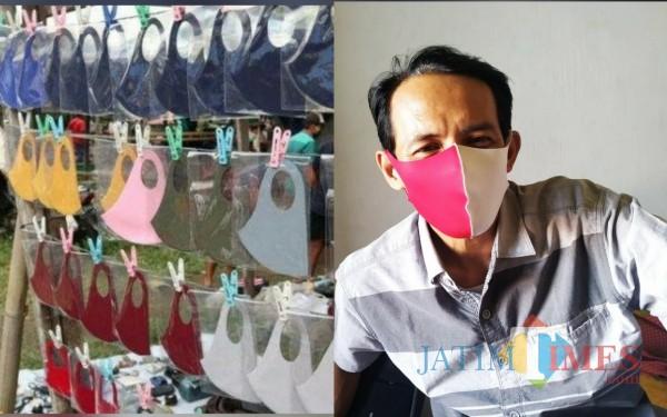 Masker Scuba yang semakin diminati masyarakat Tulungagung / Foto : Anang Basso / Tulungagung TIMES