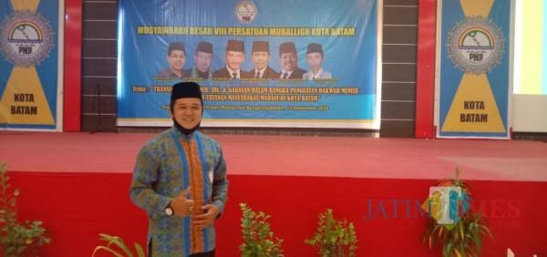 Mubaligh Asal Lintau Bersinergi di Mubes PMB Kota Batam