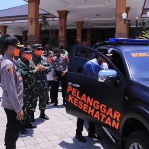 Gebrakan Kapolres Baru Madiun, Luncurkan 2 Mobil Pemburu Pelanggar Protokol Kesehatan