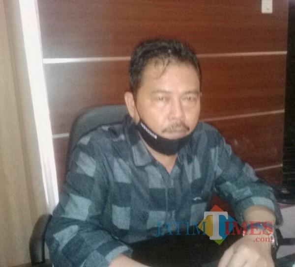Ruliyono, wakil jetua DPRD Banyuwangi asal Partai Golkar. (Nurhadi Banyuwangi Jatim Times)