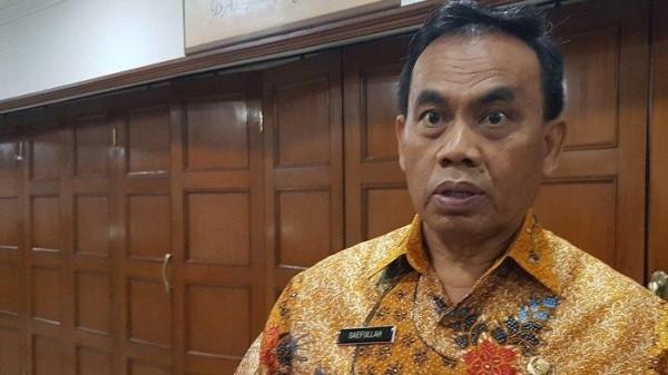Sekda DKI Jakarta Saefullah  (Foto: Okezone)
