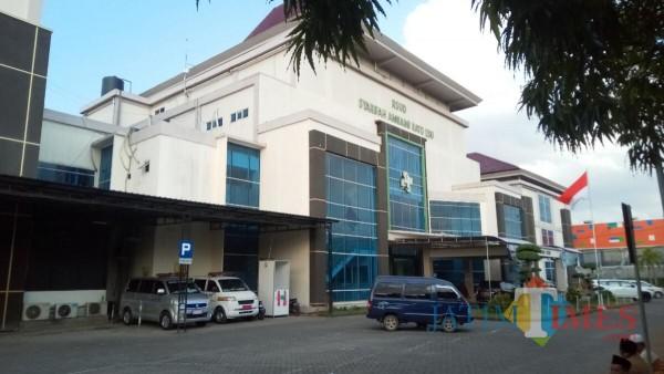 Tampak, gedung RSUD Syamrabu Bangkalan (foto/redaksi bangkalantimes.com)