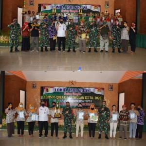 Gelar Lomba Tari Kreasi, Korem 082/CPYJ Mojokerto Tingkatkan Hubungan dengan Masyarakat