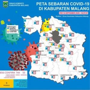 Pertengahan September, Jumlah Kasus Covid-19 di Kabupaten Malang Merangkak 856 Kasus