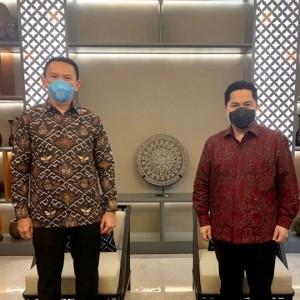 Stafsus Menteri BUMN Beberkan Pertemuan Erick Thohir dengan Ahok, Ini yang Dibahas
