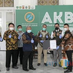 Bantuan Tiga Ventilator dari Astra Financial, untuk Masyarakat Jawa Barat