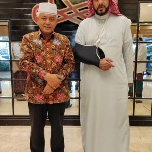 Silahturahmi ke Syekh Ali Jaber, Bupati Sanusi Libatkan Intelijen
