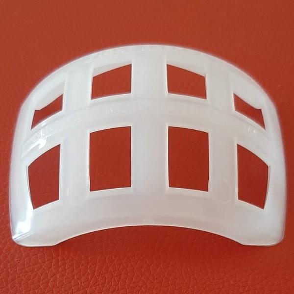 Global respiration guard atau GRG, alat pelindung mulut untuk menyempurnakan fungsi masker buatan Andreas Suprayitno. (Foto: istimewa)