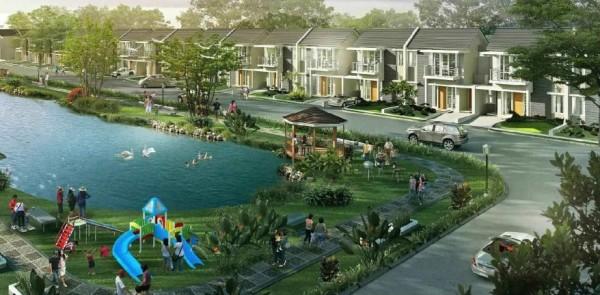 Sensasi Tinggal di Hunian Sejuk Ditemani Gemericik Air Hanya Ada di Taman Tirta Malang