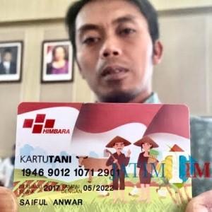 Distribusi Kartu Tani di Kota Batu Capai 87 Persen