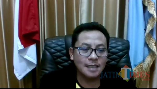Wali Kota Malang, Drs. Sutiaji saat mengikuti Festival Mbois GrandShow 2020 (tangkapan layar Festival Mbois)