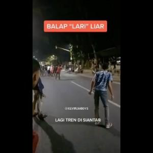 Balap Lari Liar Jadi Trend Diberbagai Daerah, Polisi Tak Segan Berikan Sanksi Tegas