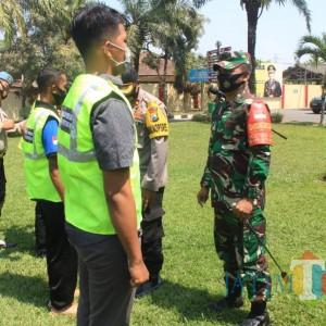 Dandim 0808/Blitar Dorong Relawan Jadi Garda Terdepan Penegakan Prokes