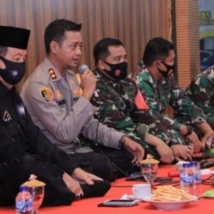 Silahturahmi, Kapolres Madiun Harap Anggota Perguruan Silat Tak Mudah Terprovokasi
