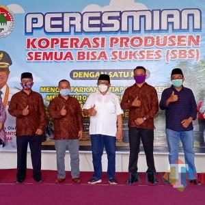 Resmikan Koperasi SBS 'Kampung Durian Runtuh', Ini Pesan dan Harapan Bupati Rijanto