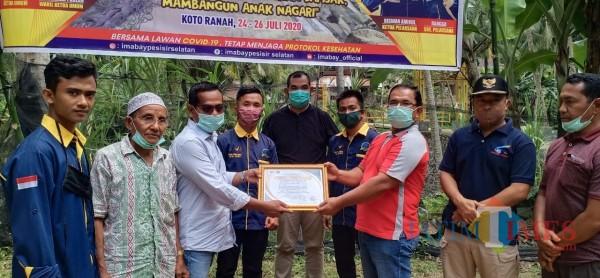Ikatan Mahasiswa Bayang dan Bayang Utara(IMABAY) Bersinergi Membangun Anak Nagari