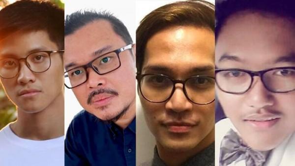 Nicholas Chan, Dedy Susanto, Reynhard Sinaga dan Gilang Bungkus (ist)