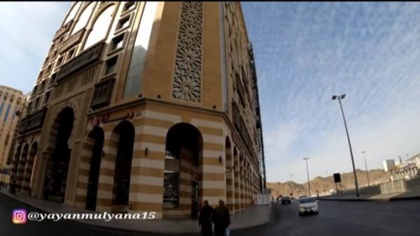 Penampakan dari liar Hotel milik Utsman bin Affan (Alman Mulyana)