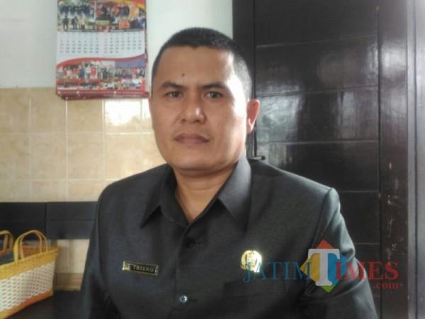 Ketua Komisi C DPRD Lumajang Trisno (Foto : Moch. R. Abdul Fatah / Jatim TIMES)