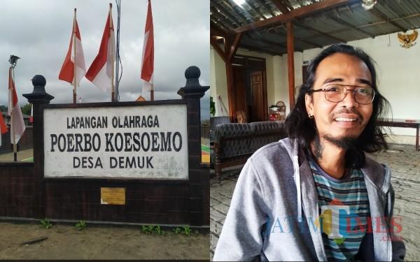 Lapangan Olah Raga Poerbo Koesoemo dan Raden Dicky Keluarga Besar / Foto : Anang Basso / Tulungagung TIMES