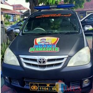 Buru Pelanggar Prokes, Polres Ngawi Siapkan Mobil Covid Hunter