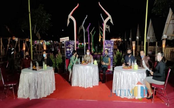 Suasana Webinar di Nangkula Park tegap memperhatikan protokol kesehatan / Foto : Istimewa / Tulungagung TIMES