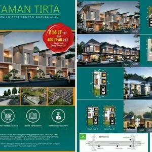Murah! Rumah di Taman Tirta 10 Menit dari Exit Tol Surabaya-Malang Cuma 214 Juta