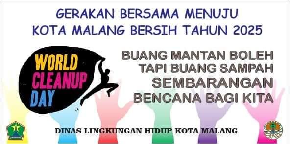 Flayer WCD 2020 (DLH Kota Malang for MalangTIMES)