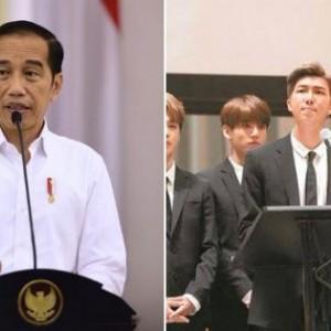 Presiden Jokowi Disebut akan Bertemu BTS di Sidang PBB, Anggota ARMY Histeris!