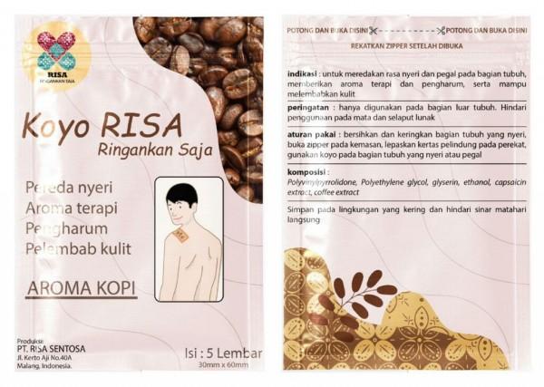 Koyo RISA aroma kopi. (Foto: istimewa)
