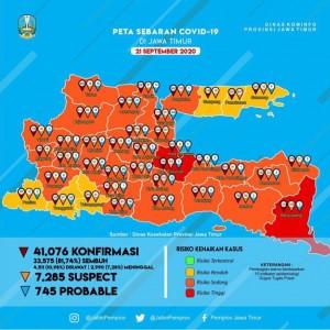 Banyak Pasien Covid-19 yang Sembuh, Kabupaten Malang Turun ke Peringkat 8 se-Jatim