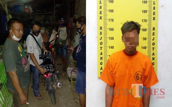 Butuh Waktu Sehari, Pelaku Curanmor di Warkop Ditangkap Polisi