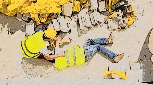 Ilustrasi kecelakaan kerja (petrotrainingasia)