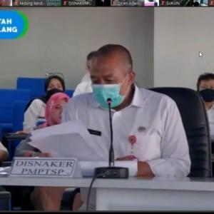 Mantapkan Layanan Berbasis Elektronik, Disnaker-PMPTSP Kota Malang Gelar Webinar
