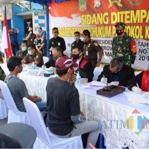 Kabupaten Malang Tertinggi Se-Jatim, 1.734 Pelanggar Terjaring Operasi Yustisi