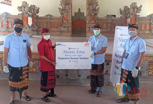 Bantuan ventilator yang diberikan dari Astra Financial