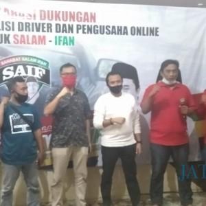 Komunitas Driver Online dan Ojol Deklarasi Dukung Salam-Ifan, Ini Alasannya