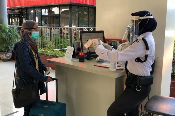 Pelayanan PT KAI terhadap penumpang (istimewa)