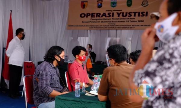 14 Hari Operasi Yustisi di Kota Batu, Total Denda Terkumpul Rp 2,7 Juta