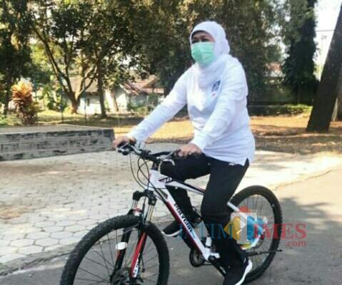 Gubernur Jatim Khofifah Indar Parawansa (Foto : Doc : AUL / Jatim TIMES)
