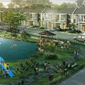 Perumahan Taman Tirta Malang 2 Lantai cuma Rp 400 Juta, Ada Water Park di dalamnya!