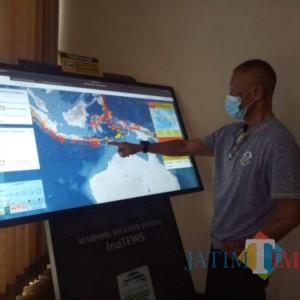 Terkait Potensi Tsunami 20 Meter, Lumajang Sudah Miliki 5 EWS Di Pesisir Selatan